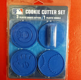 MLB Chicago Cubs Cookie Cutter Set