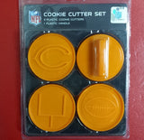 NFL Chicago Bears Cookie Cutter Set