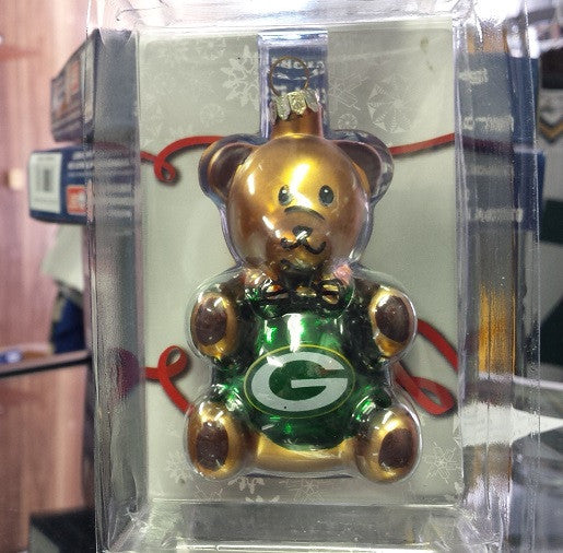 NFL Green Bay Packers Teddy Bear Ornament