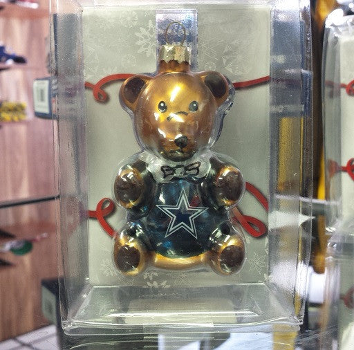 NFL Dallas Cowboys Teddy Bear Ornament