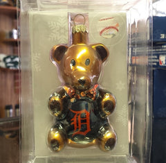 MLB Detroit Tigers Teddy Bear Ornament