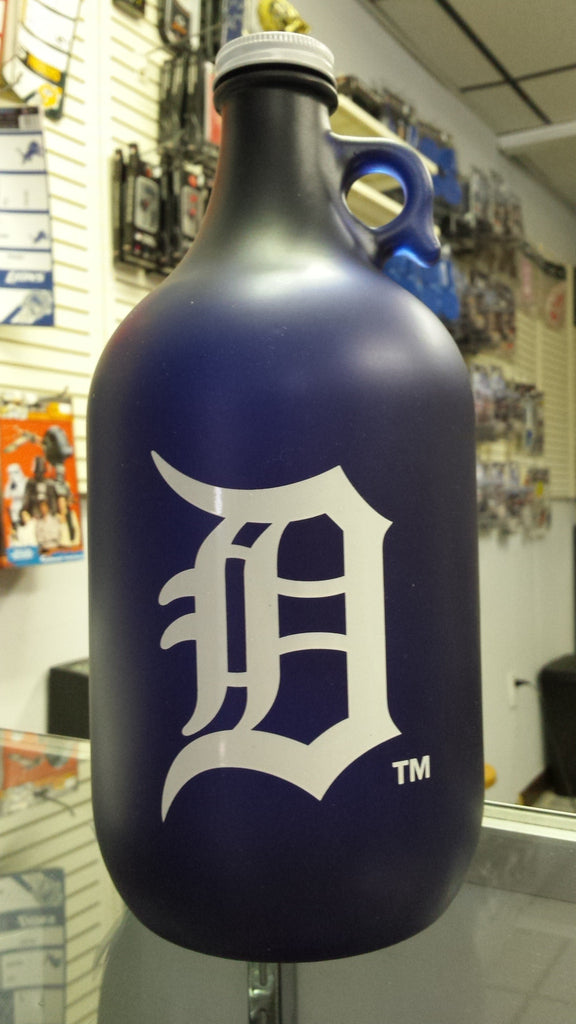 MLB Detroit Tigers 64oz Color Frosted Collectible Growler with Team Logo