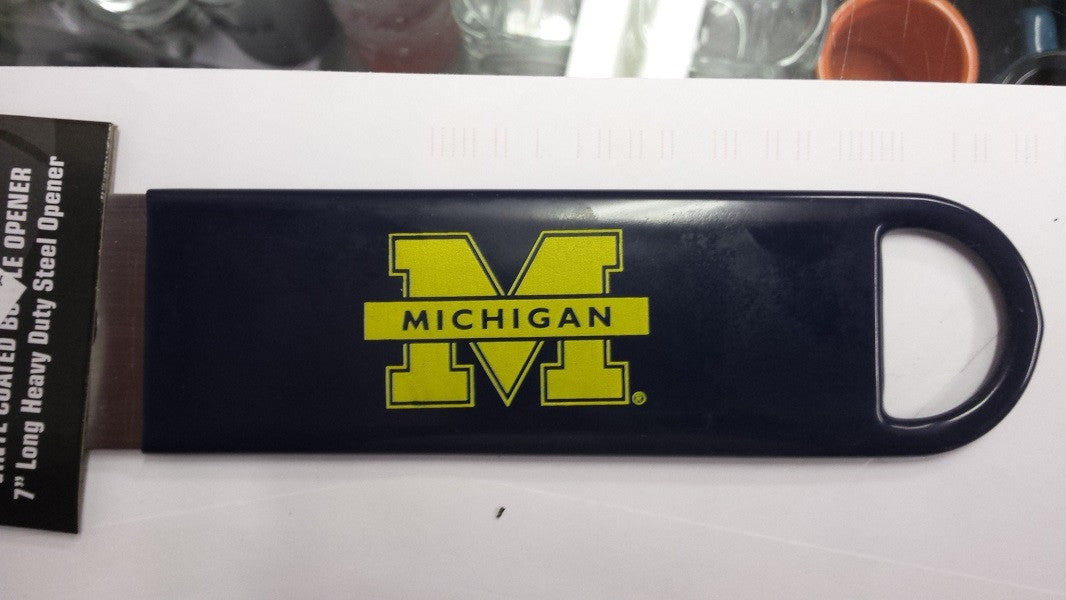 "NCAA Michigan Wolverines Officially Licensed  7"" Vinyl Bottle Opener"