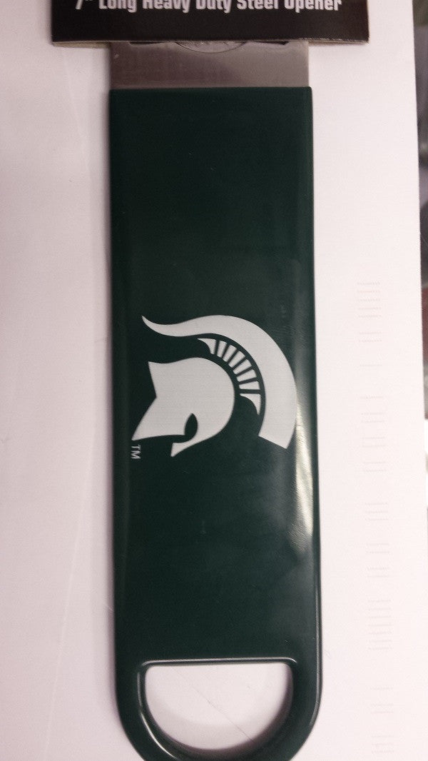 "NCAA Michigan State Spartans Officially Licensed  7"" Vinyl Bottle Opener"