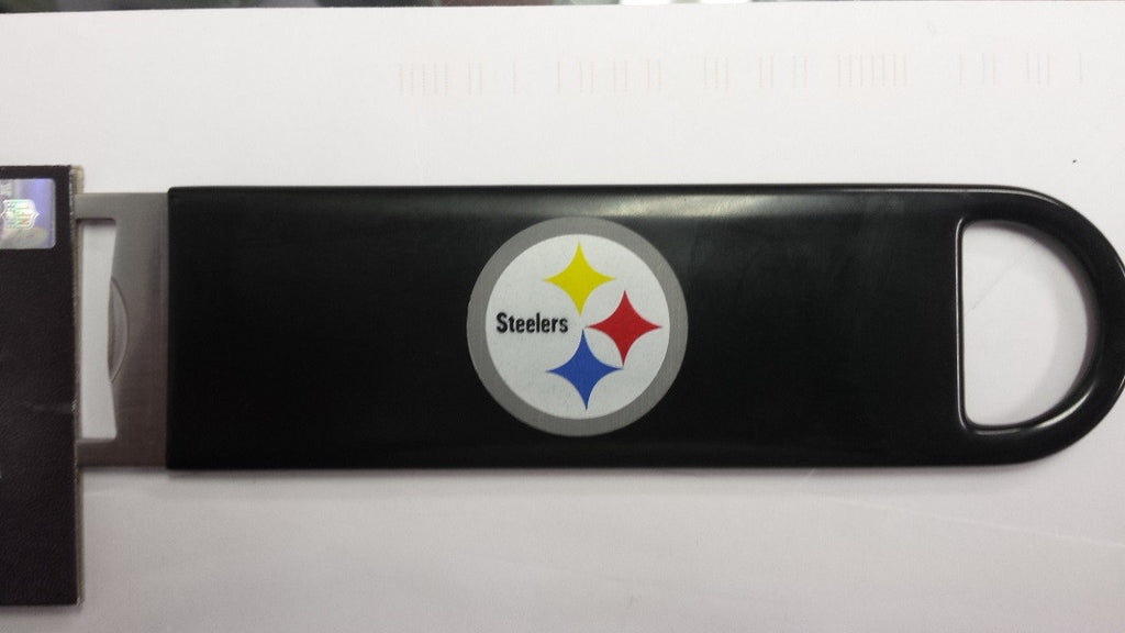 "NFL Pittsburgh Steelers Officially Licensed  7"" Vinyl Bottle Opener"