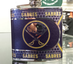 NHL Buffalo Sabres 6 oz Hip Flask with 360 Wrap