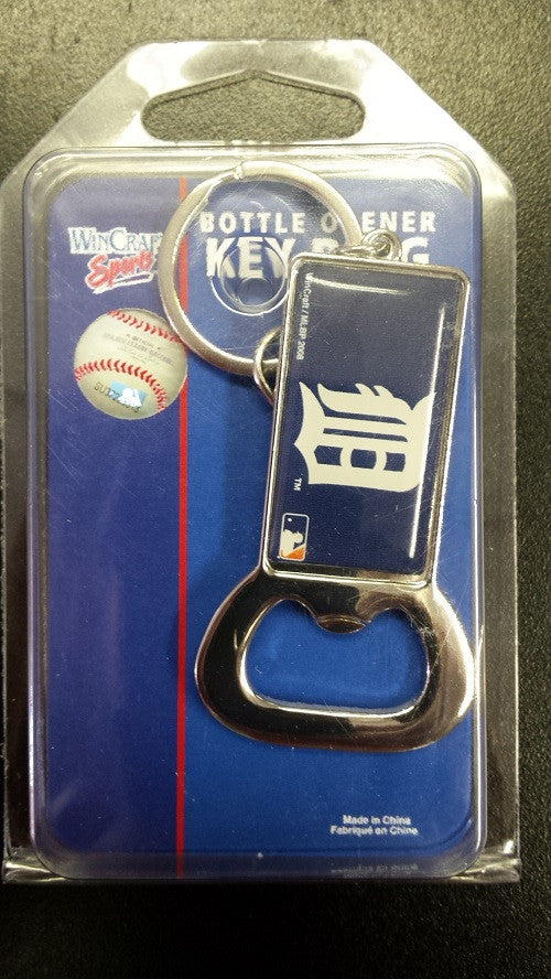 MLB Detroit Tigers Opener Keychain