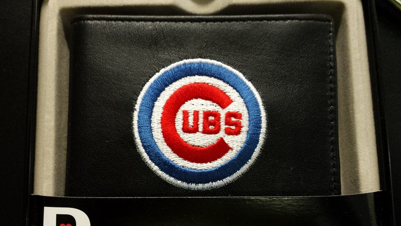 MLB Chicago Cubs Embroidered Billfold / Wallet