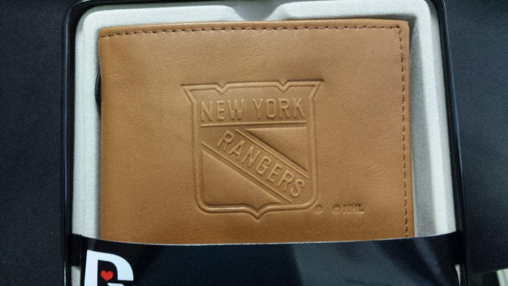 NHL New York Rangers Embossed Billfold / Wallet