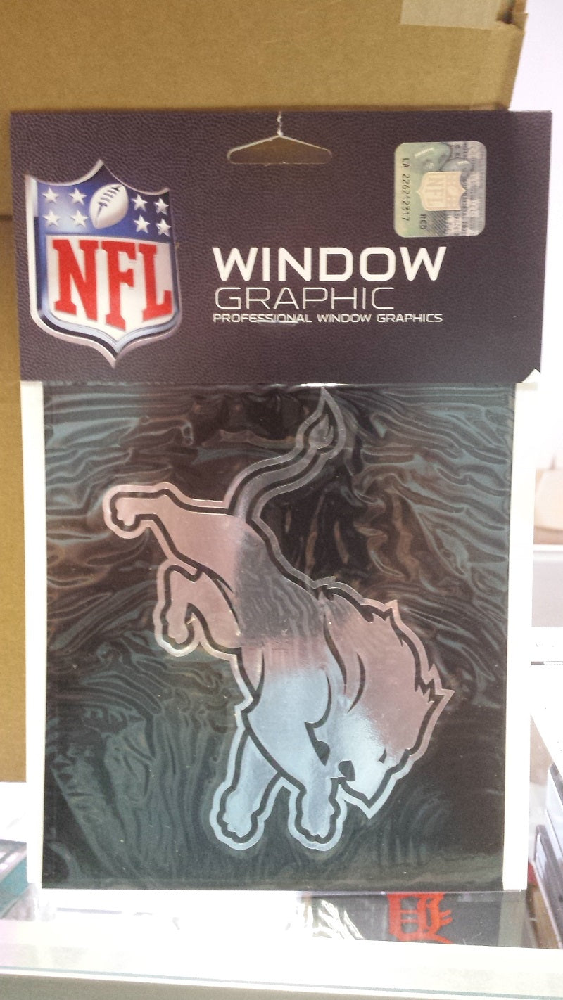 NFL Detroit Lions Window Decal