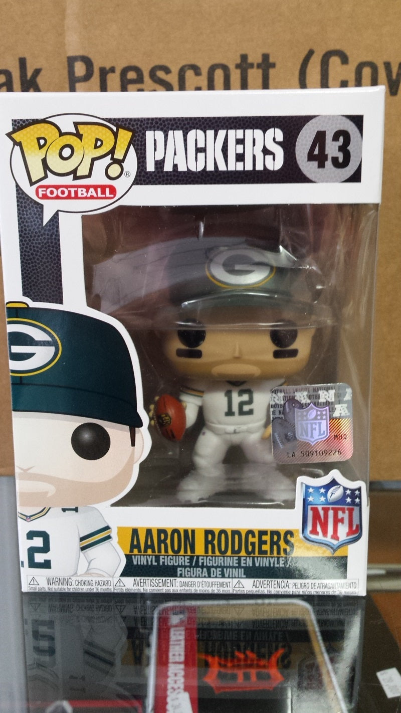 NFL Green Bay Packers Aaron Rodgers Funko Pop Vinyl Figure