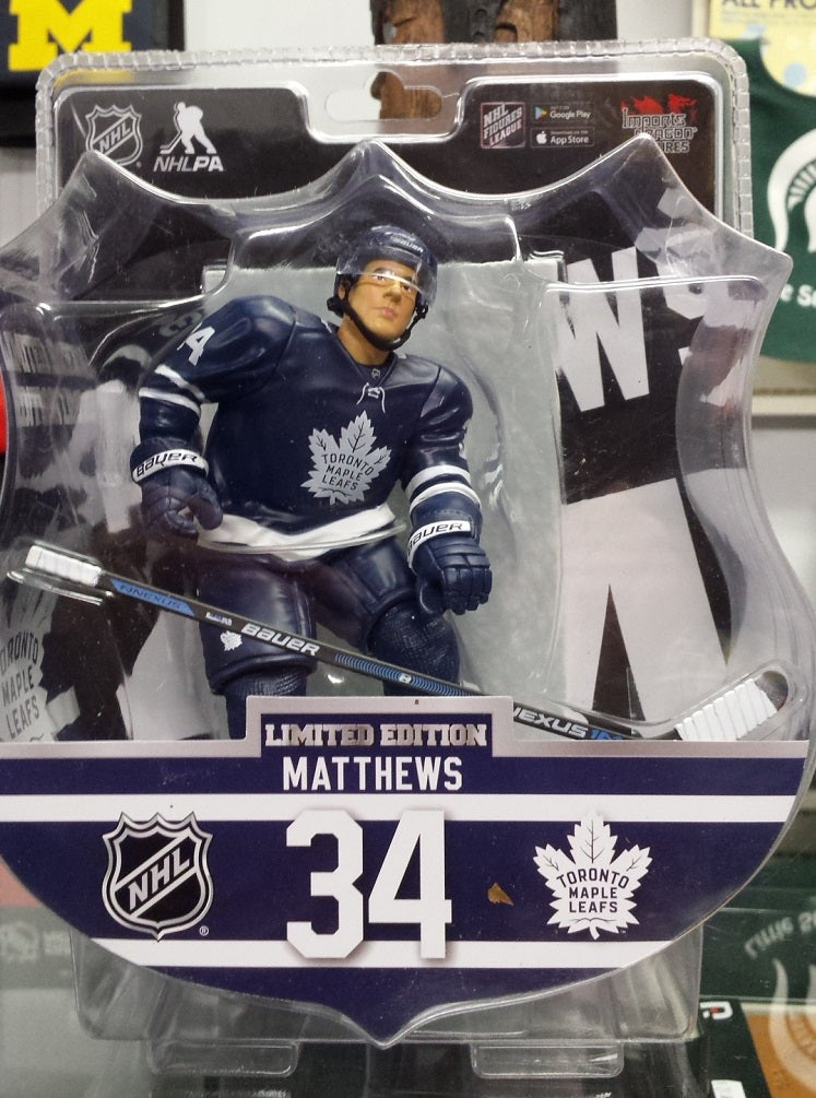 "2017-18 NHL Toronto Maple Leafs Auston Matthews 6"" Figure by Imports Dragon"