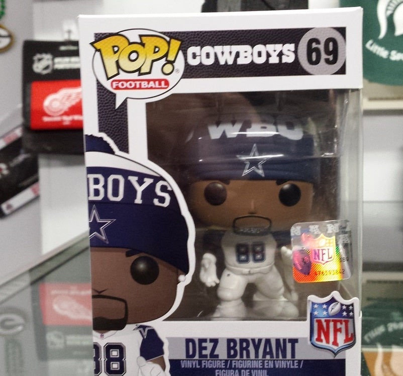 NFL Dallas Cowboys Dez Bryant Funko Pop Vinyl Figure