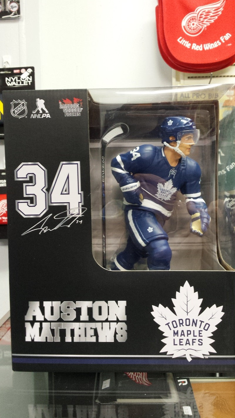 "2017-18 NHL Toronto Maple Leafs Auston Matthews 12"" Figure by Imports Dragon"