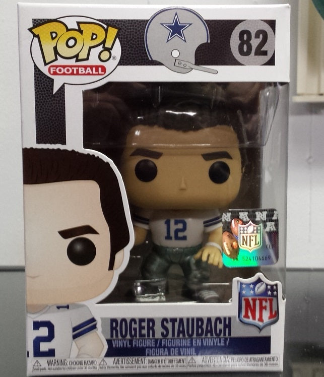 NFL Dallas Cowboys Roger Staubach Funko Pop Vinyl Figure