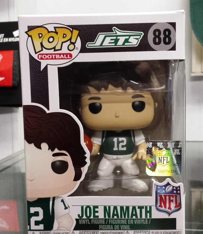 NFL New York Jets Joe Namath Funko Pop Vinyl Figure