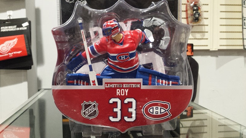 "2017-18 NHL Montreal Canadiens Patrick Roy 6"" Figure by Imports Dragon"