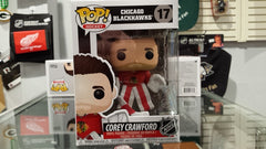 NHL Chicago Blackhawks Corey Crawford Funko Pop Vinyl Figure