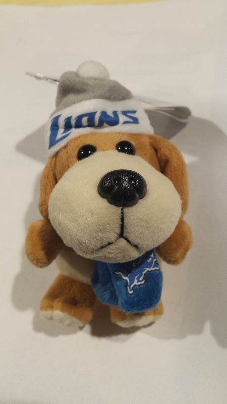 NFL Detroit Lions Plush Dog Ornament