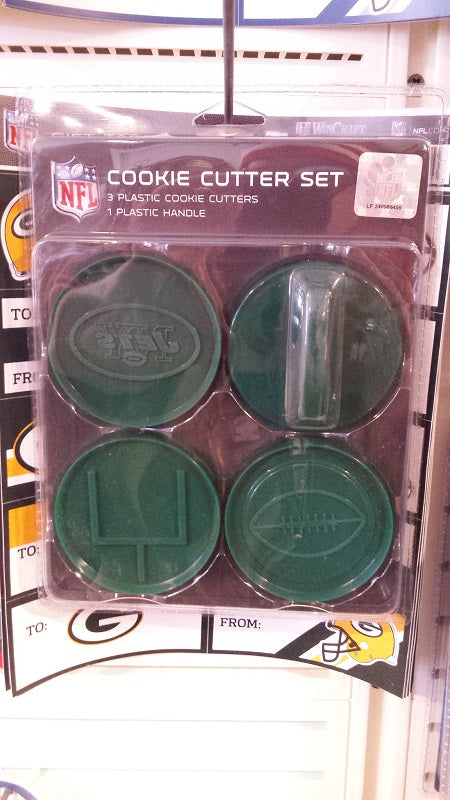 NFL New York Jets Cookie Cutter Set