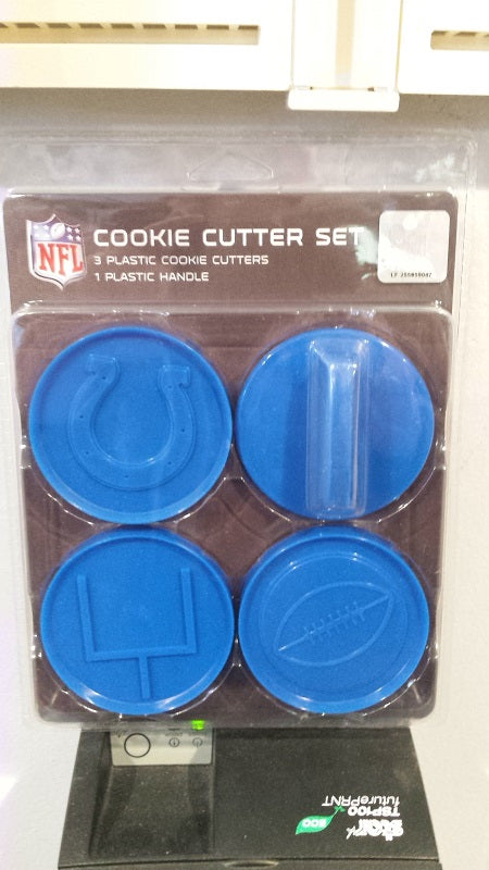 NFL Indianapolis Colts Cookie Cutter Set