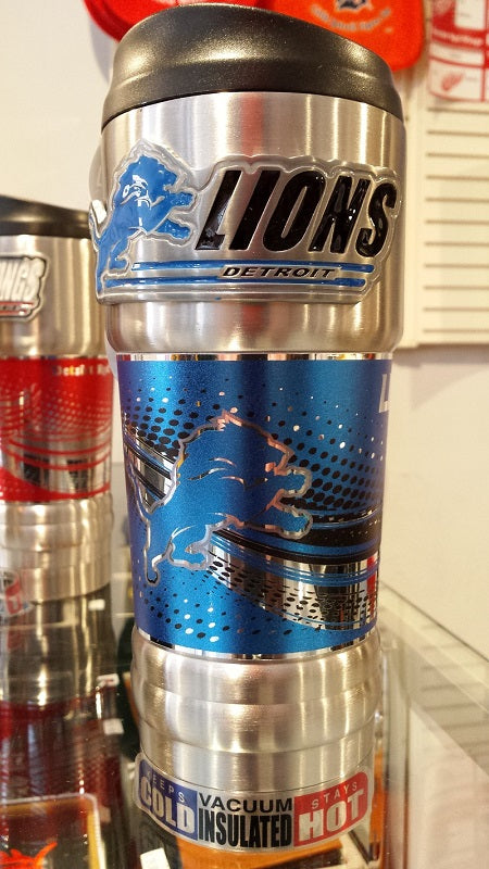 New!! NFL Detroit Lions Vacuum Insulated Stainless Steel Tumbler