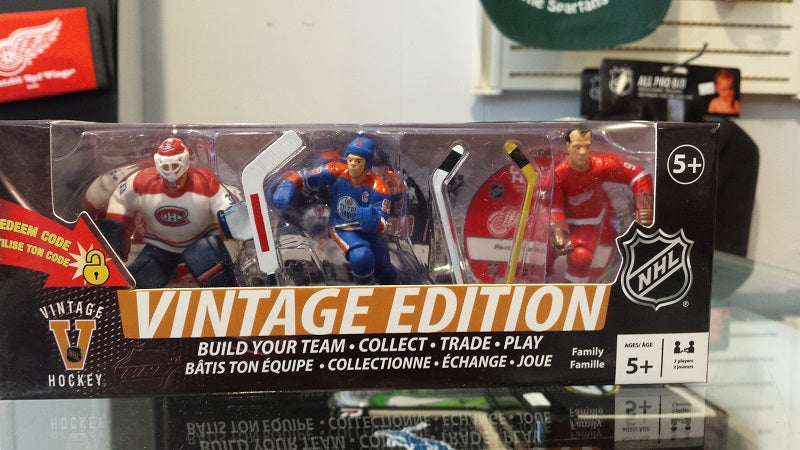 NHL Vintage Edition 3-Pack of 3 in. Figures - Roy, Gretzky, Howe