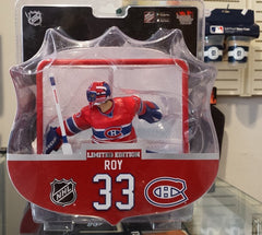 "2017-18 NHL Montreal Canadiens Patrick Roy 6"" Figure with Net by Imports Dragon"