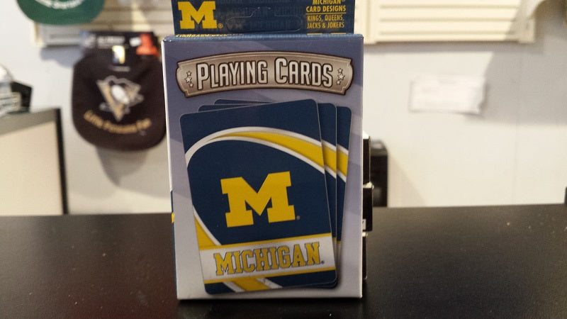 NCAA Michigan Wolverines Playing Cards