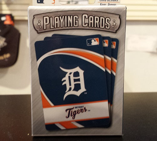 MLB Detroit Tigers Playing Cards