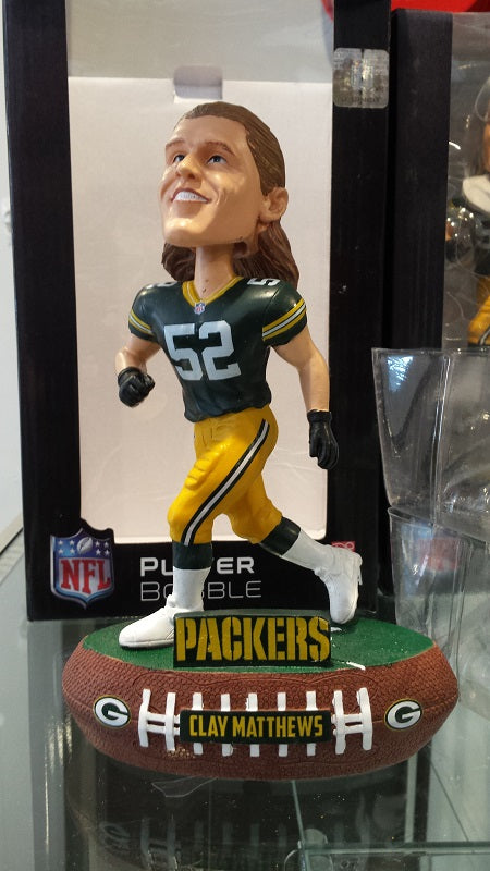 2018 NFL Green Bay Packers Clay Matthews Forever Collectibles Bobblehead