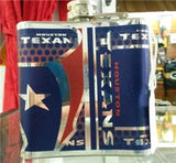 NFL Houston Texans 6oz Stainless Steel Flask with 360 Wrap - Hockey Cards Plus LLC  - 2