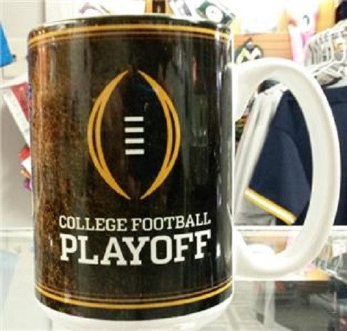 NCAA 2015 College Football Inaugural Playoff Dueling 15oz Sublimated Coffee Mug