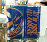 NHL New York Islanders 6 oz Hip Flask with 360 Wrap - Hockey Cards Plus LLC  - 2