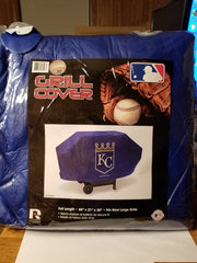 MLB Kansas City Royals Deluxe Padded Grill Cover