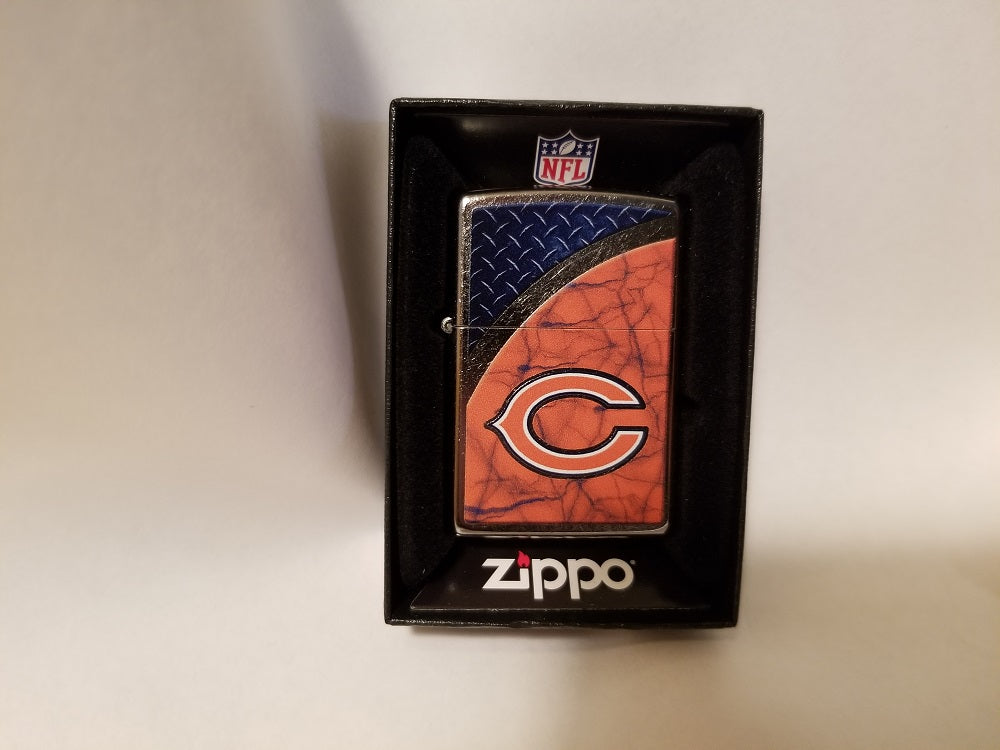 NFL Chicago Bears Street Chrome Zippo Lighter