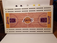 NBA Los Angeles Lakers Court Cribbage Board