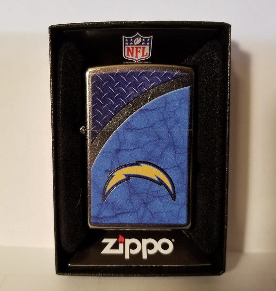 NFL Los Angeles Chargers Street Chrome Zippo Lighter