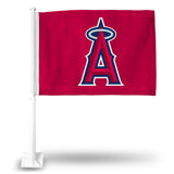 MLB Los Angeles Angels Car Flag - Hockey Cards Plus LLC
