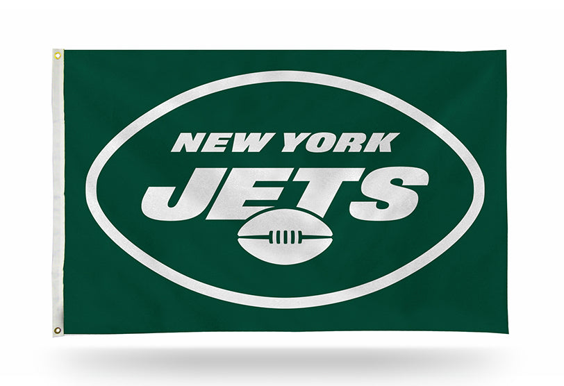 NFL New York Jets 3' X 5' Banner Flag
