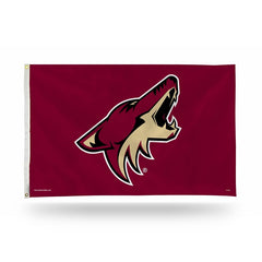NHL Arizona Coyotes 3' X 5' Banner Flag
