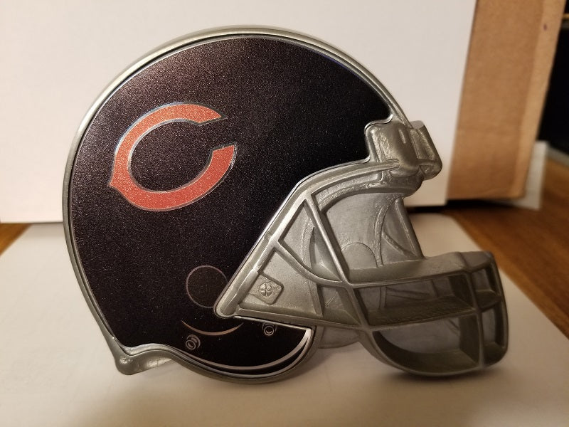 "NFL Chicago Bears Metal Helmet Trailer Hitch Cover ( for 2"" hitch )"