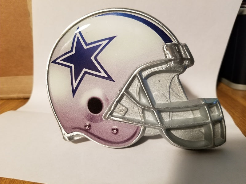 "NFL Dallas Cowboys Metal Helmet Trailer Hitch Cover ( for 2"" hitch )"