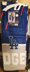 "MLB Los Angeles Dodgers 30"" X 60"" Fiber Beach Towel"