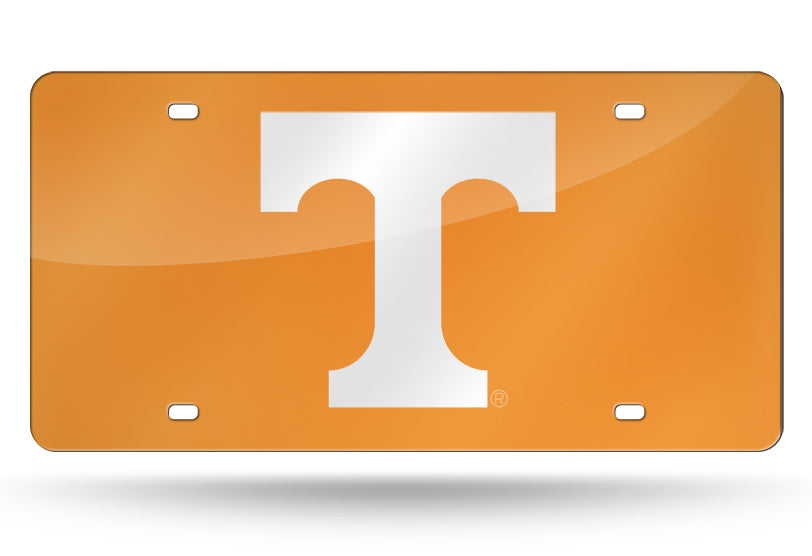NCAA Tennessee Volunteers Laser License Plate Tag - Orange