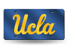 NCAA UCLA Bruins Laser License Plate Tag - Blue