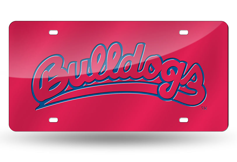 NCAA Fresno State Bulldogs Laser License Plate Tag - Red