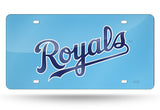 MLB Kansas City Royals Laser License Plate Tag - Blue