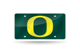 NCAA Oregon Ducks Laser License Plate Tag - Green