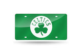 NBA Boston Celtics Laser License Plate Tag - Green